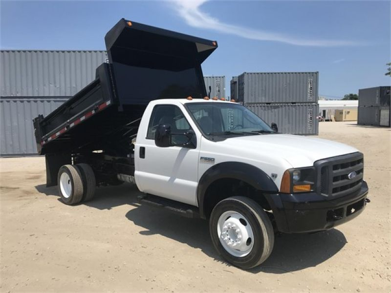 2007 FORD F550 XL SD 6080278495