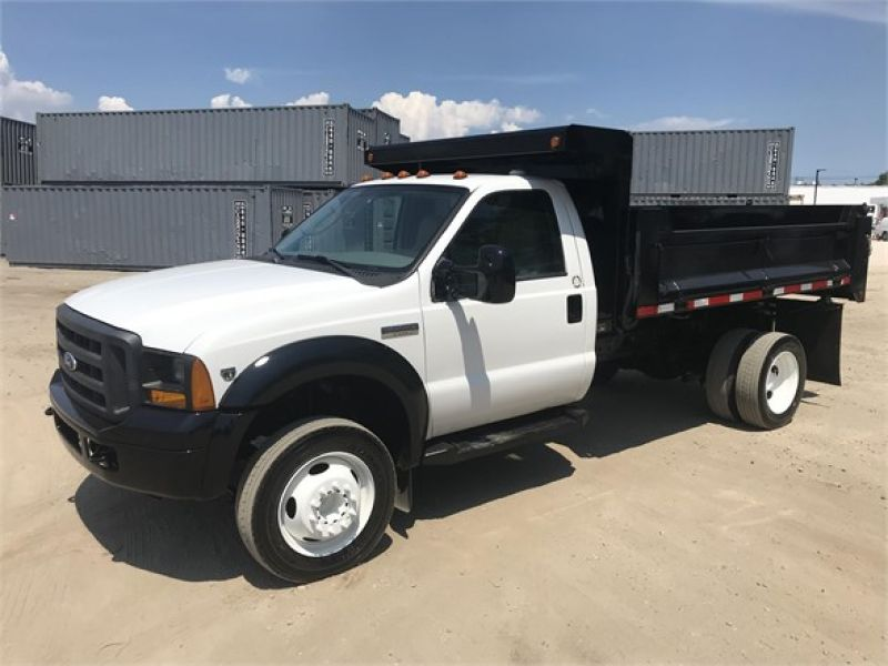 2007 FORD F550 XL SD 6080278727