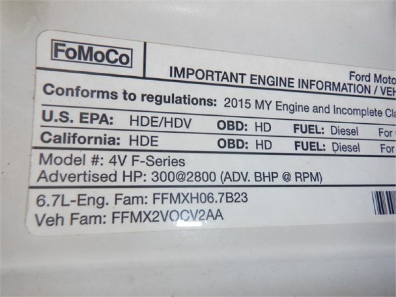 2015 FORD F550 6134825063