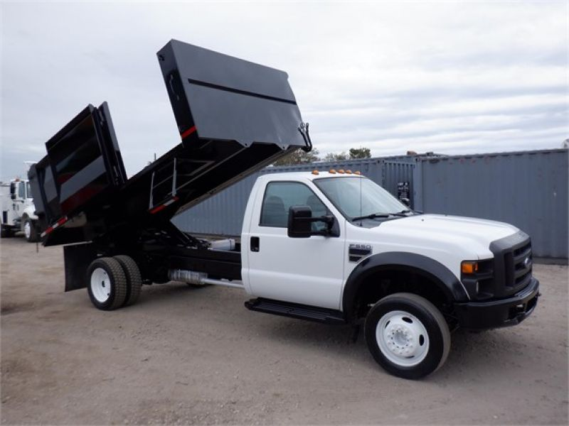 2010 FORD F550 XL SD 6142870607