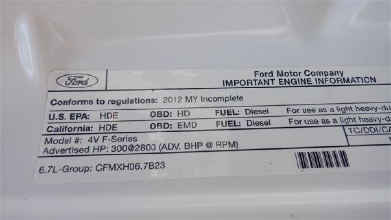 2012 FORD F550 7122165643